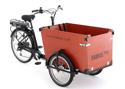 hundetransport lastenfahrrad babboe dog elektro diermann. Black Bedroom Furniture Sets. Home Design Ideas