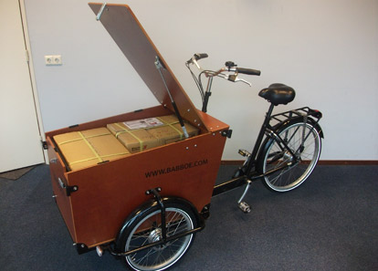 babboe transporter lastenrad elektro diermann. Black Bedroom Furniture Sets. Home Design Ideas